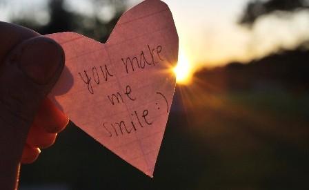 you make me smile f
